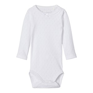 Name it - Janet LS Body, Bright White